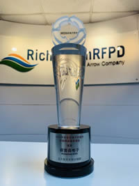 Richardson RFPD wins Best Technical Support Distributor Award 2018