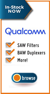 Qualcomm RF360 SAW/BAW Filters
